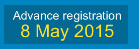 Advance registration deadline for ISPAC 2015 is 8. May 2015.