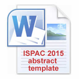 ISPAC 2015 Abstract template in MS Word format