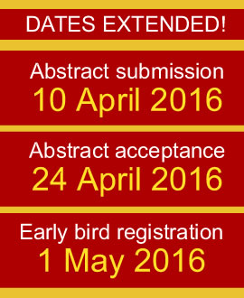 Important dates of the ISPAC 2016 conference held in June 2016 Singapore.