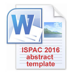 ISPAC 2016 Abstract template in MS Word format