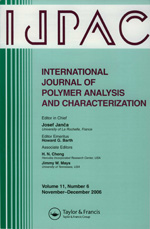 IJPAC: International Journal of Polymer Analysis and Characterization